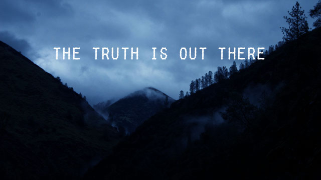 truth-is-out-there  X Files The Truth Is Out There Wallpaper