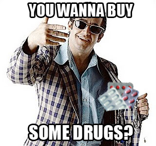 wanna buy some drugs