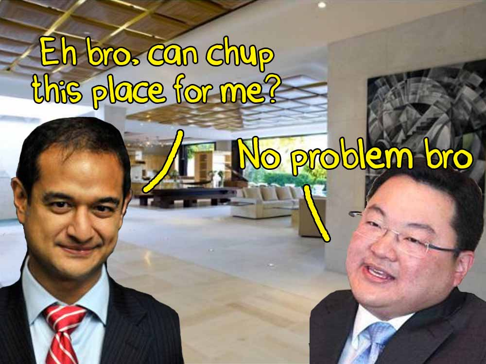 chup place jho low riza aziz