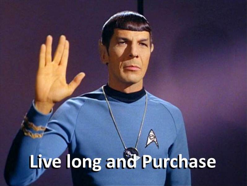Boldly go where no one has gone before. Just remember to bring shopping bags.