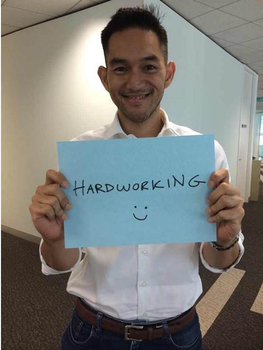 Too hardworking in fact. We understand even the ants in Singapore feel they (the ants) could be doing more.