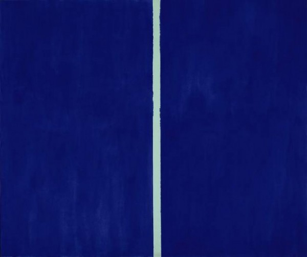 Barnett-Newman-–-Onement-VI-1953-10-Most-ridiculous-modern-arts-you-are-supposed-to-take-seriously-600x503