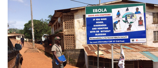 A warning sign in an affected city. Photo from cdc.gov