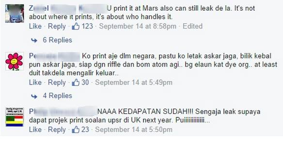 Yahoo! Malaysia's Facebook commenters are a fun bunch. Photo from Yahoo! Malaysia's Facebook page.
