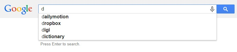 Google Malaysia Suggest - D
