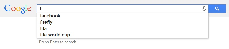 Google Malaysia Suggest - F