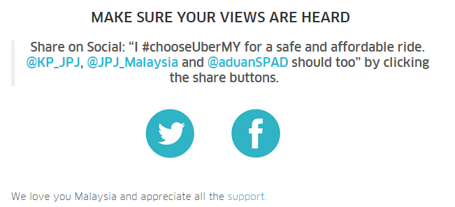 MALAYSIA  THE CHOICE IS YOURS    Uber Blog
