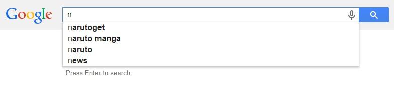Google Malaysia Suggest - N