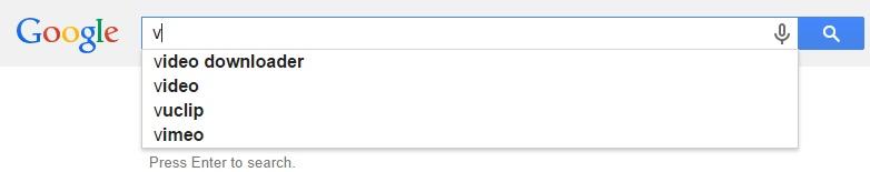 Google Malaysia Suggest - V