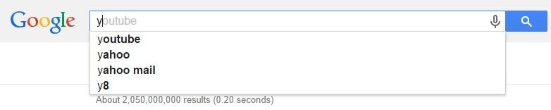 Google Malaysia Suggest - Y