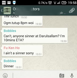 bobbles is just consistent with the typos SESAT AUTOCORRECT   chak cilisos.my