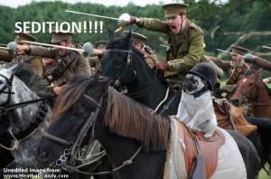 sedition cavalry