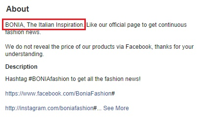 BONIA, The Italian Inspiration. Screencap from facebook.com
