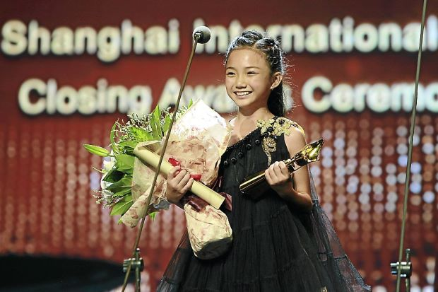 Crystal Lee Shanghai Film Fest. Image from The Star