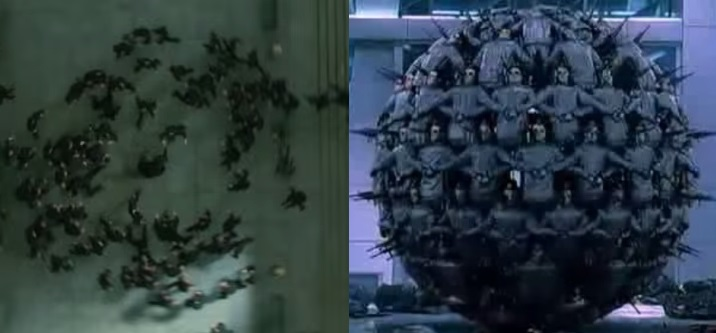 The Matrix Reloaded vs Enthiran