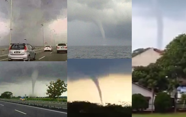 [UPDATE]: Another Tornado In Penang! Is Malaysia Becoming