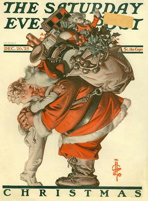 Santa in 1925 - from Wikipedia