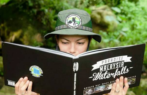Paradise Malaysia Waterfalls coffee table book. Image from Herbert Wong, PPATS