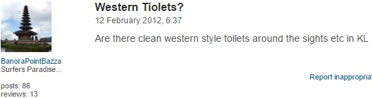 Comment from BanoraPointBazza, Australia on TripAdvisor.