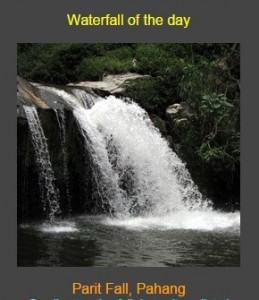 Waterfall of the day? How cute is that. Click to visit.