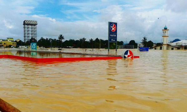 caltex flood