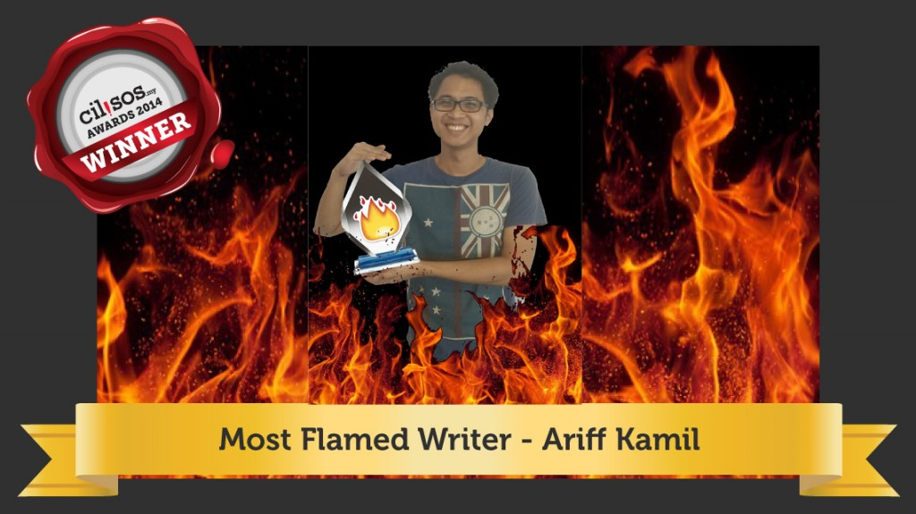 Most-flamed-writer