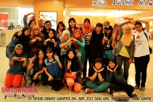 SMTOWN SEA's Official Gathering. Photo from May of SMTOWN SEA Fanbase.