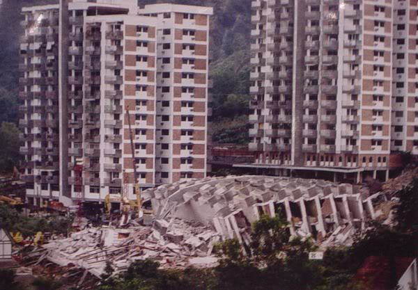 The Highland Towers tragedy. Photo credit: hulukelang.com