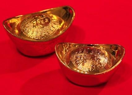 Gold-sycee-ingots