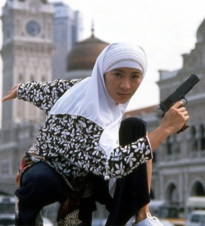 Michelle Yeoh in Police Story 3. Image from Alive not Dead.