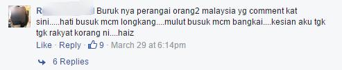 Astro awani's facebook post 2