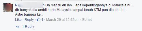 Astro awani's facebook post 3