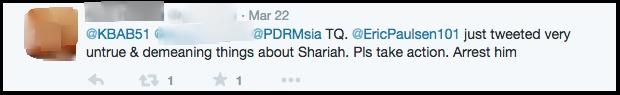 Khalid Abu Bakar on Twitter    PDRMsia memandang serius komen2 terhadap agama oleh mrk yg tidak arif mengenai nya. PDRM tiada pilihan selain m ambil t dakan t hadap Mrk.