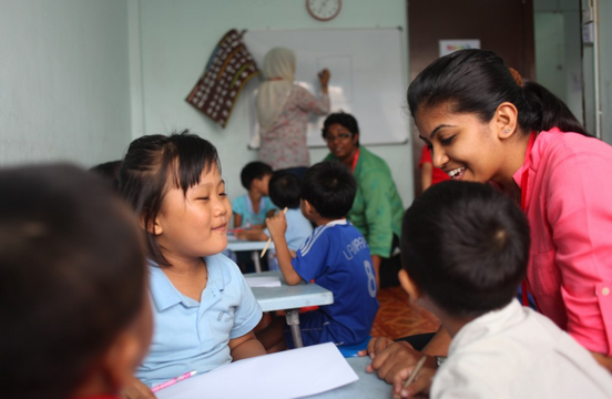 Or read Ranjeetha Sivajanam's story by clicking on the image. Photo from Teach For Malaysia