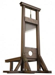 guillotine hudud