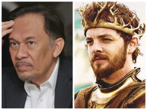 Image via Says.com (left) and Game of Thrones wikia (right)