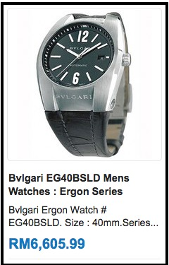 bvlgari   men   Find a wide array of watches at Bodying.my