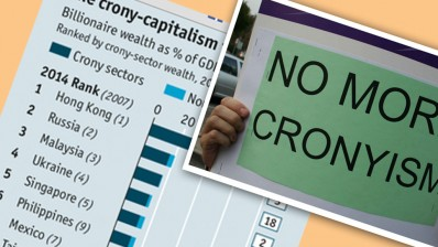 Image from The Ant Daily. Click on image to learn more about the Economist Crony Capitalism Index 2014
