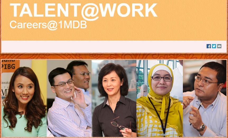 Careers 1MDB 1MDB