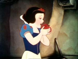 snow white eat poison apple