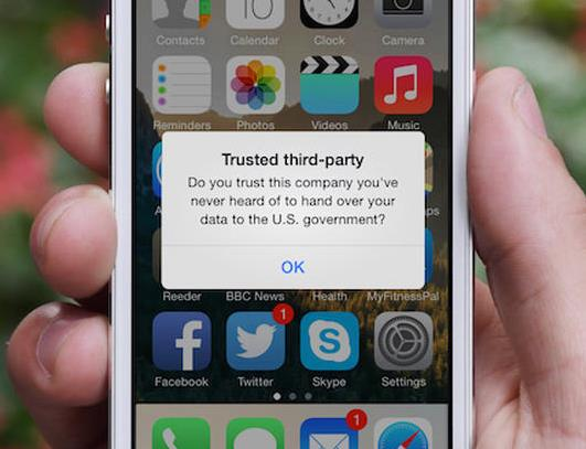 trusted third party app pop up Image from ZDNet