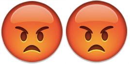 2 angry emoji