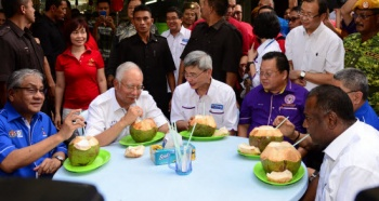 Most people, regardless of income, tend to eat in street stalls. Even Malaysia's richest...