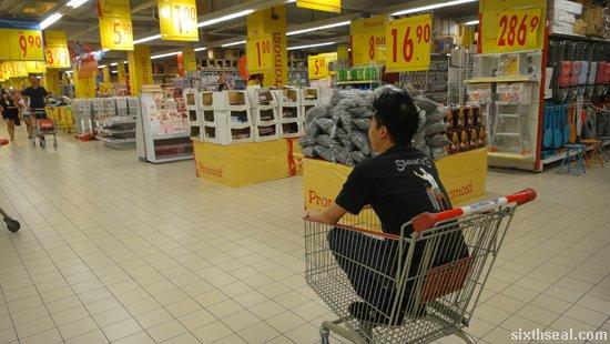 supermarket push