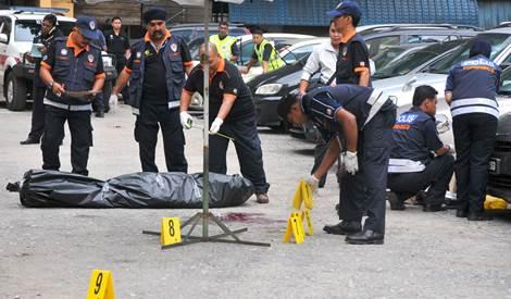 Najadi crime scene