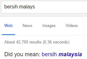 bersih malays   Google Search
