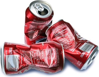 recycle coke cans. Image from komonews.com.