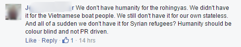 Facebook comment 3000 Syrians a