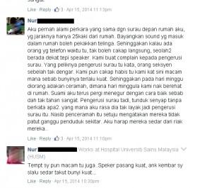 Komen-komen dari media sosial