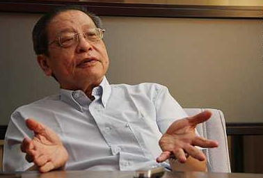 lim kit siang vs mahathir enemy supporter Image from 1MDB.my